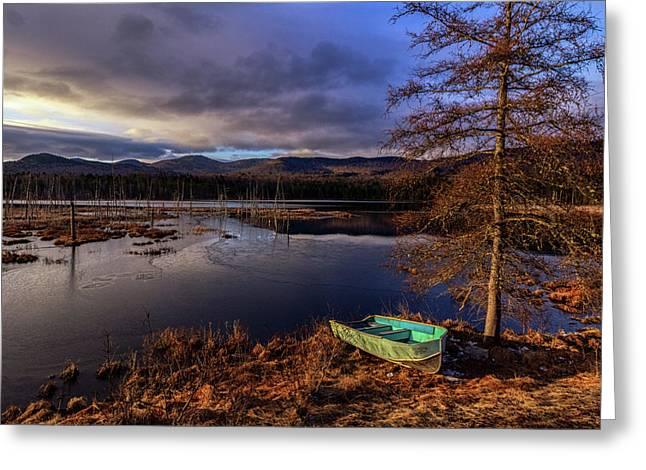 Shaw Pond Sunrise - Landscape Greeting Card