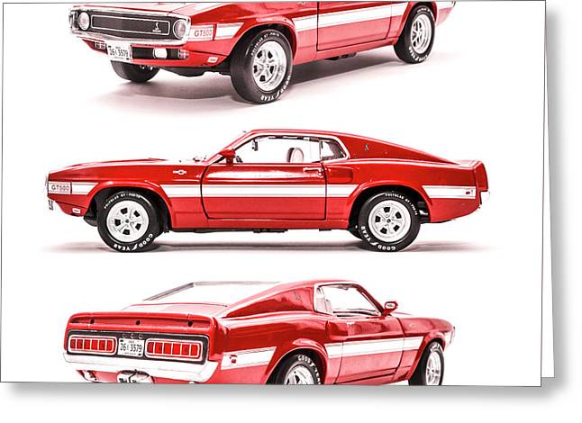 Shelby Gt500  Greeting Card