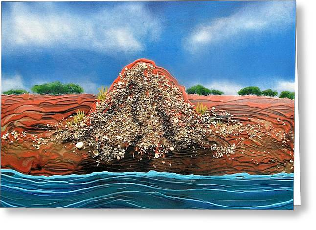 Shell Mound Greeting Card