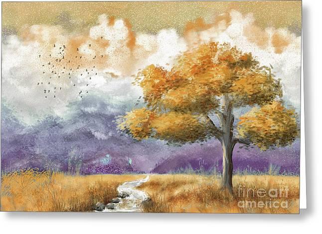 Shenandoah Autumn Greeting Card
