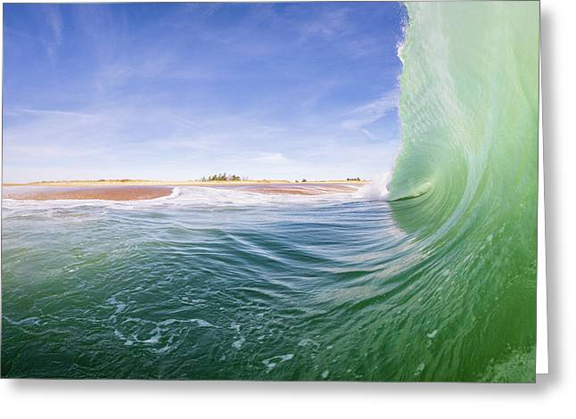 Shorebreak Greeting Card