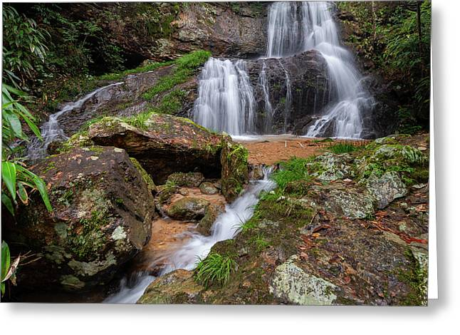 Shu Nu Waterfall 8x10 Horizontal Greeting Card