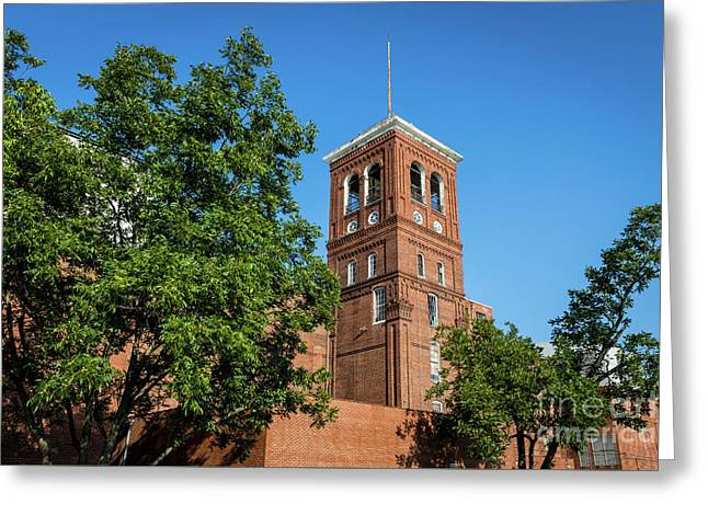 Sibley Mill Augusta Ga Greeting Card