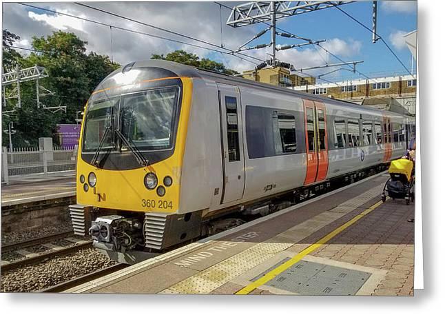Siemens Mobility 360 Desiro Heathrow Connect Train Greeting Card