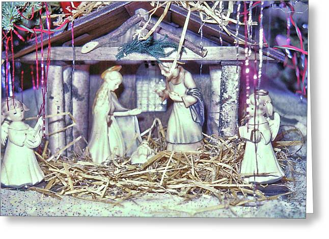 Silent Night Holy Night Greeting Card by JAMART Photography