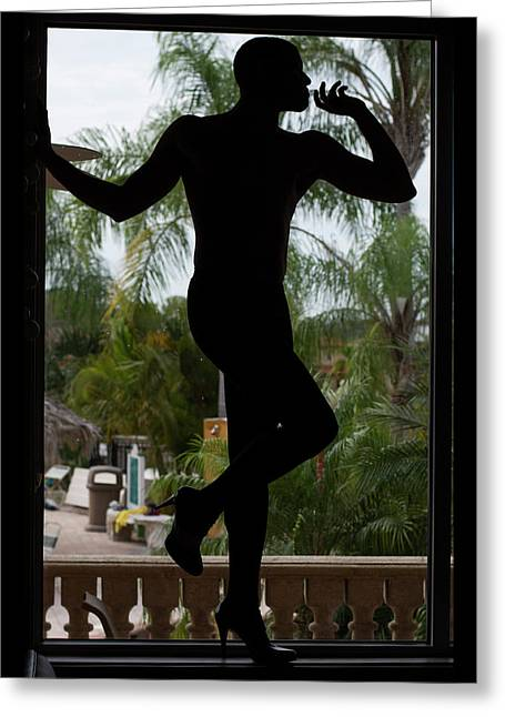 Silhouette II Greeting Card