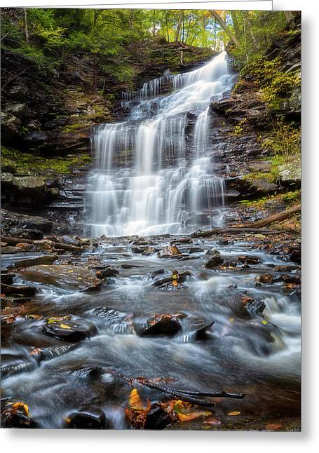 Silky Flow Greeting Card