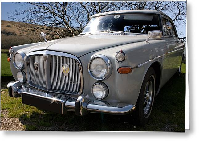 Silver Rover P5b 3.5 Ltr Greeting Card
