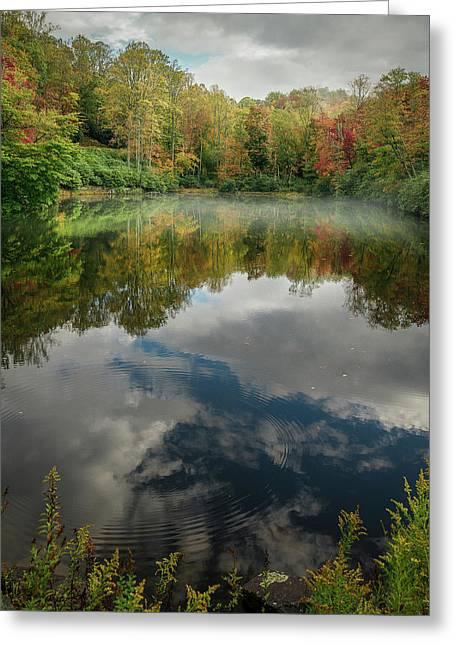 Sims Pond Blowing Rock North Carolina Greeting Card