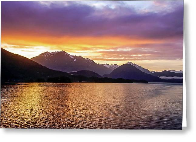 Sitka Sunrise Greeting Card