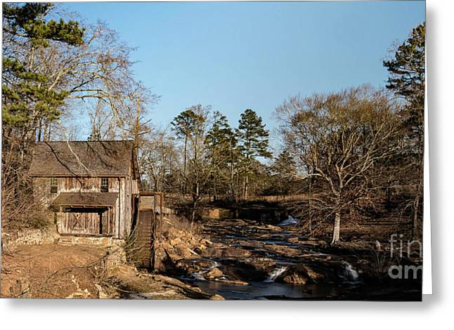 Sixes Mill Greeting Card by Elijah Knight