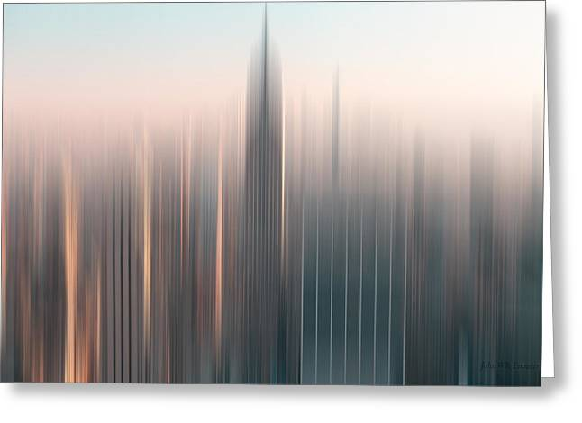 skyline I Greeting Card