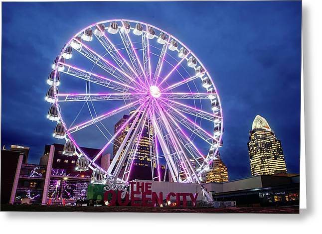 Skystar Ferris Wheel Greeting Card