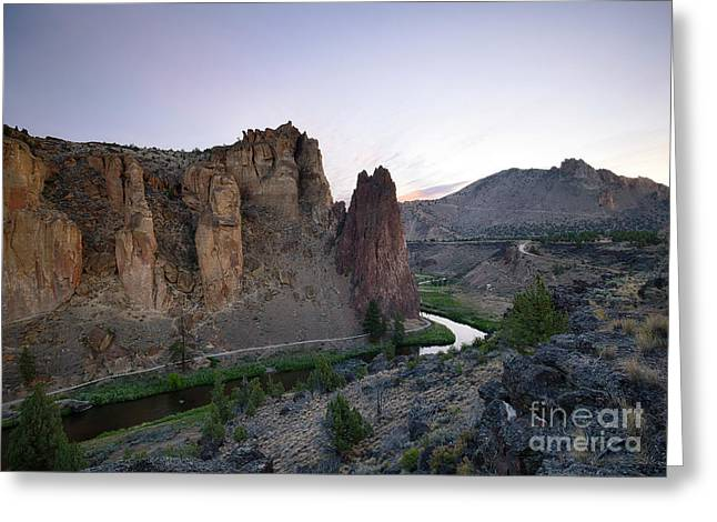 Smith Rock Summer Greeting Card