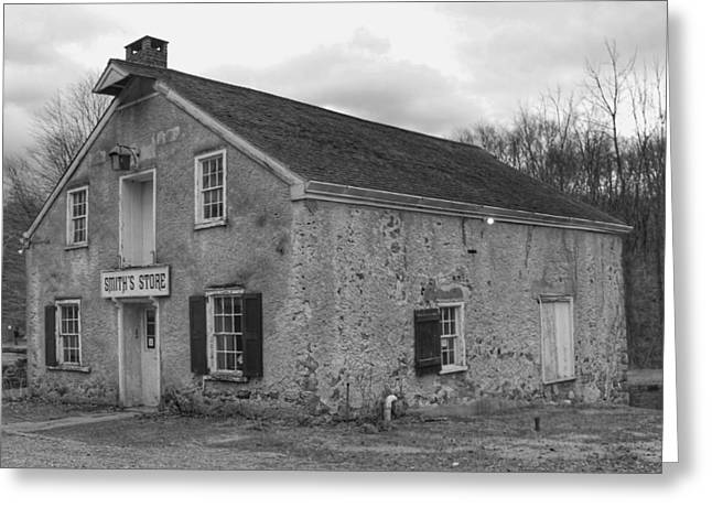 Smith's Store - Waterloo Village Greeting Card