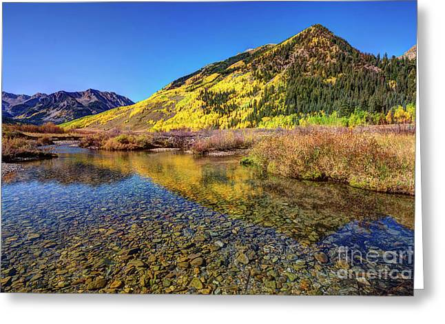 Greeting Card featuring the photograph Snowmass Creek by Joe Sparks
