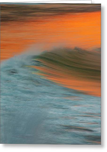 Soft Wave Greeting Card