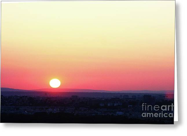 Greeting Card featuring the photograph Solar Tangent by Rick Locke