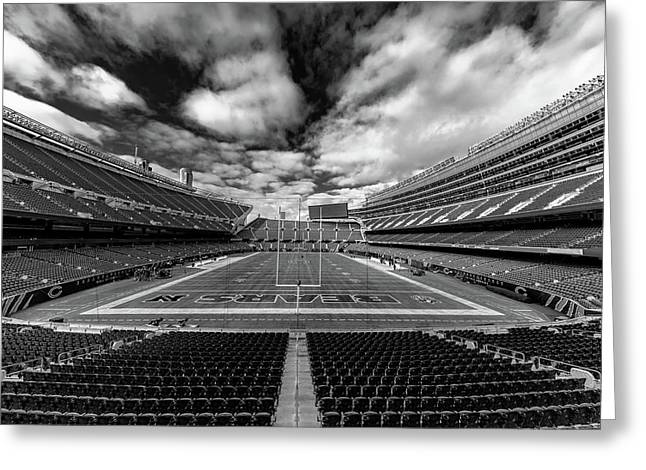 Soldier Field Chicago Greeting Card