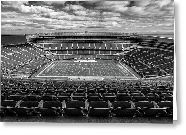 Soldier Field High 50 Greeting Card