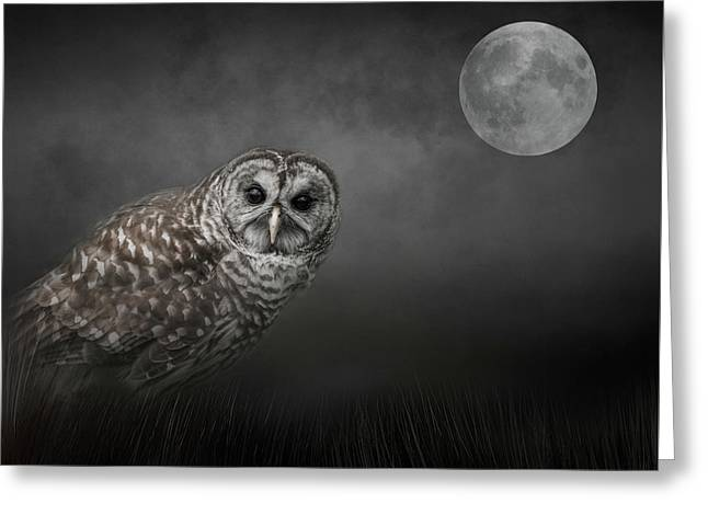 Soul Of The Moon Greeting Card