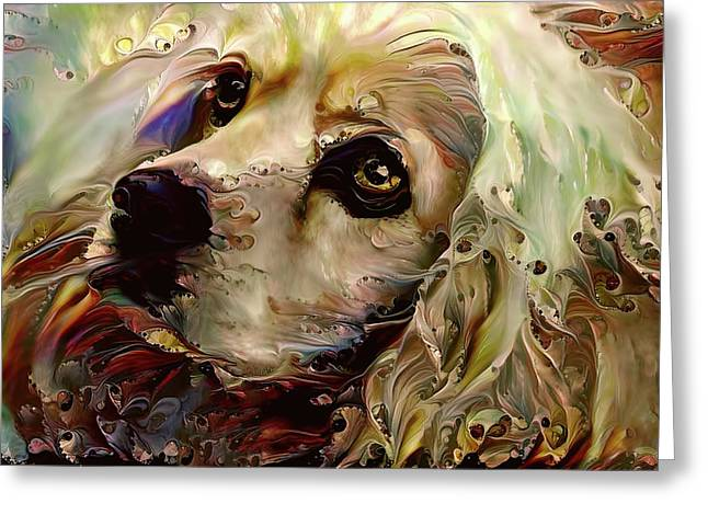 Soulful Cocker Spaniel Greeting Card