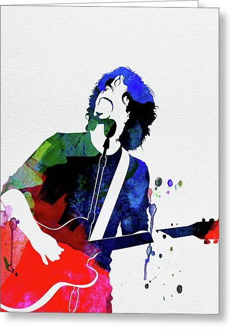 Soundgarden Watercolor Greeting Card