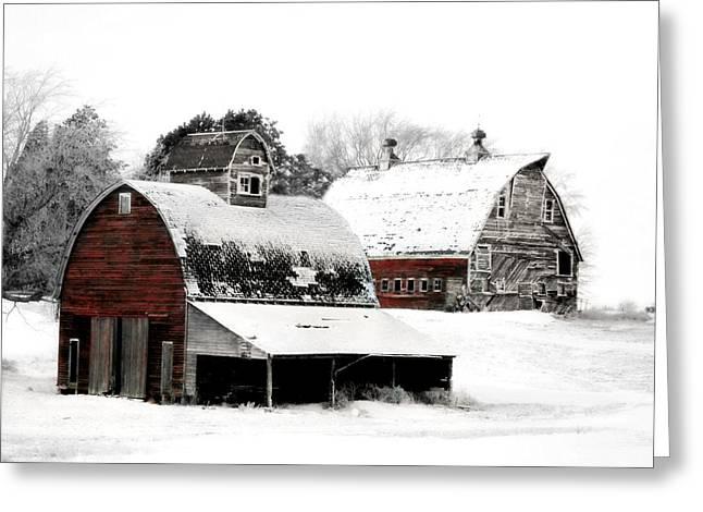 South Dakota Farm Greeting Card