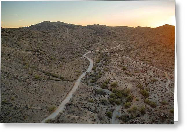 South Mountain Canyon Greeting Card