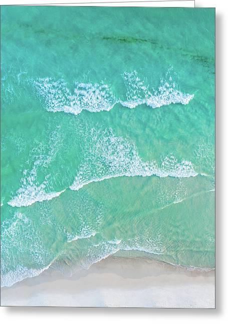 Sowal Surfline Greeting Card