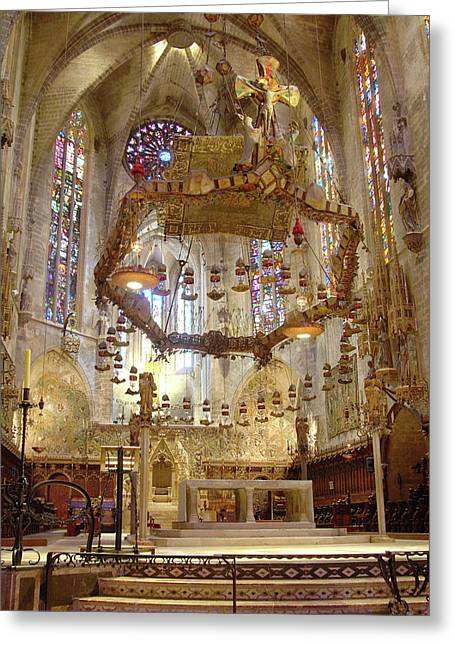 Spanish Cathedral Greeting Card