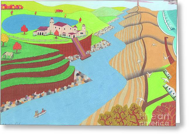 Spanish Wells Greeting Card