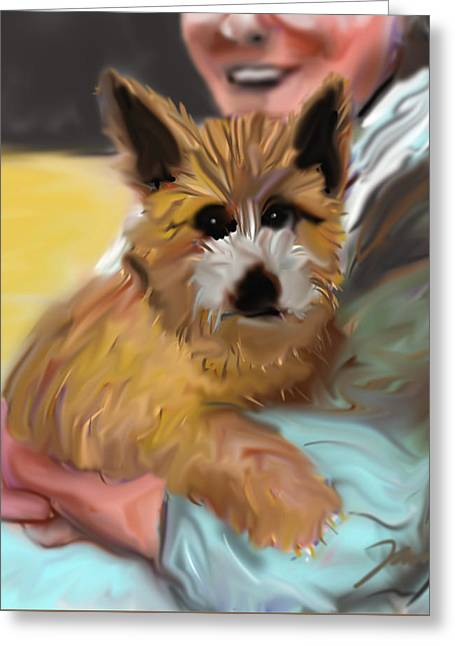 Sparky Greeting Card