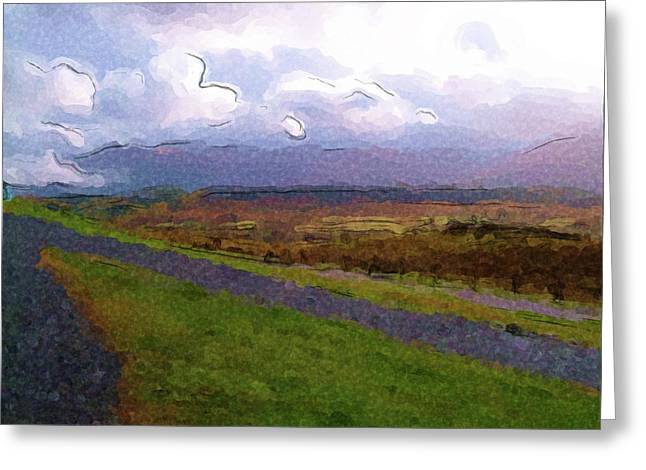 Spean Bridge Painting Greeting Card