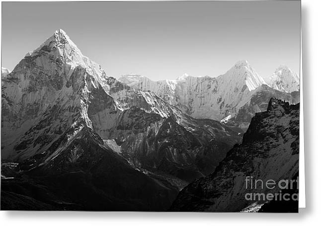 Spectacular Mountain Scenery On The Greeting Card