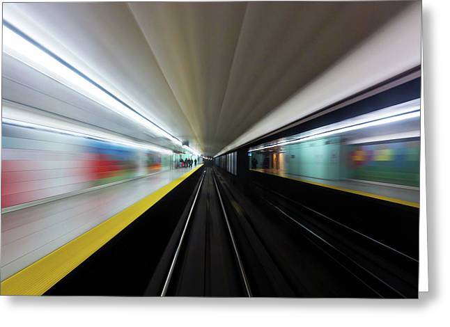 Greeting Card featuring the photograph Speed 2 by Brian Carson