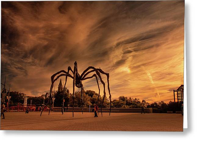 Spider Maman - Ottawa Greeting Card
