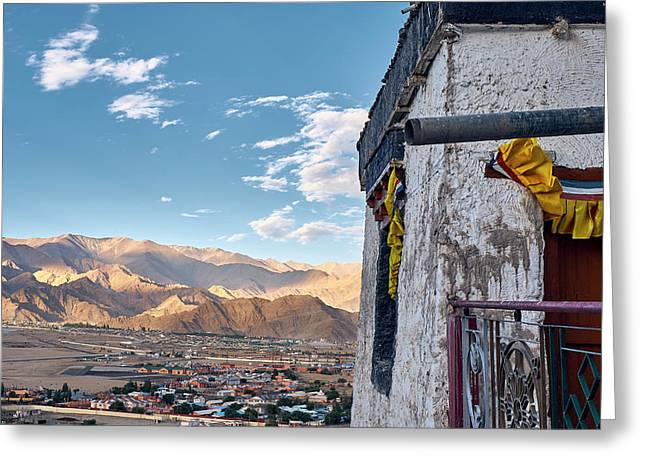 Spituk Gompa Greeting Card