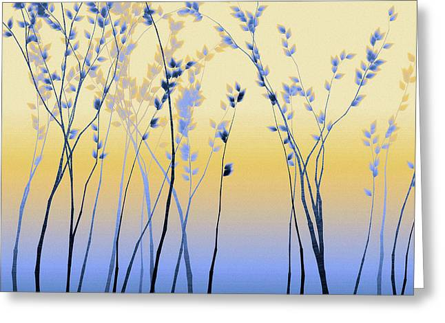 Spring Aspen Greeting Card