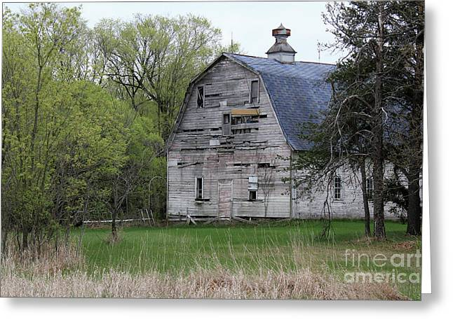 Spring Barn Greeting Card