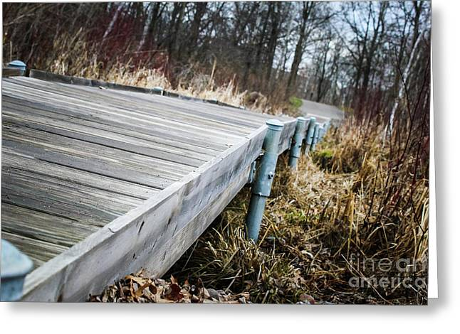 Spring Boardwalk Greeting Card