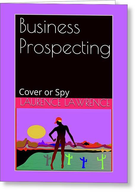 Spy 01 Greeting Card
