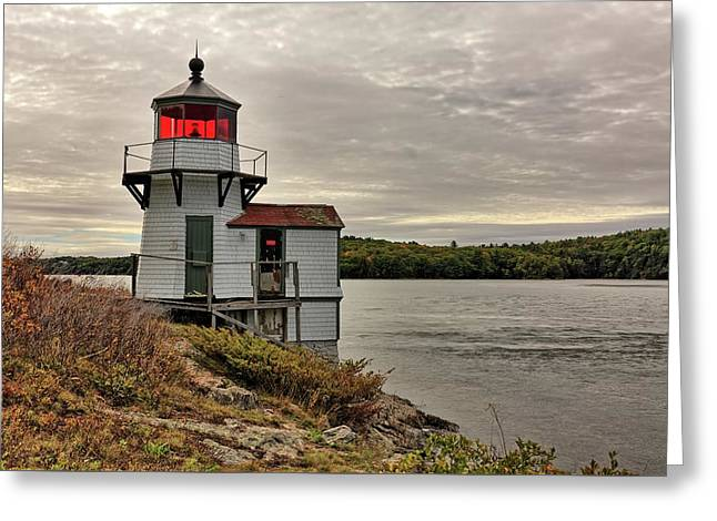 Squirrel Point Light Greeting Card