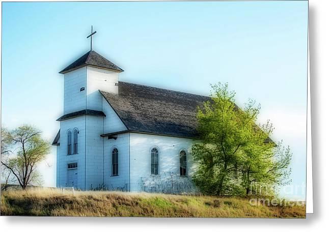 St. Agnes. Church Greeting Card