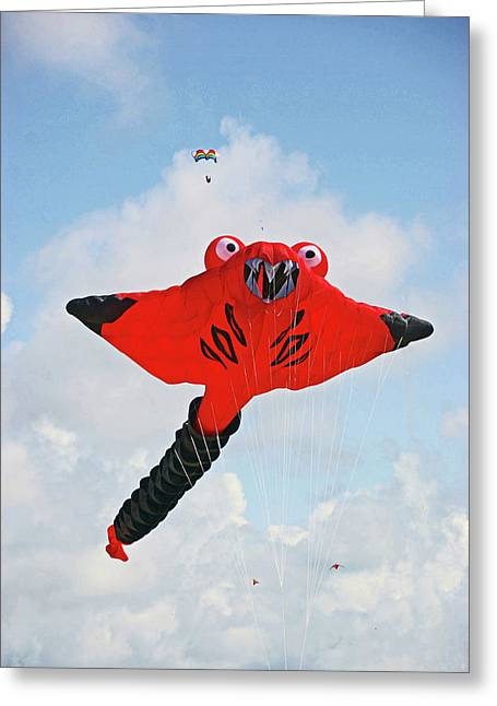 St. Annes. The Kite Festival Greeting Card