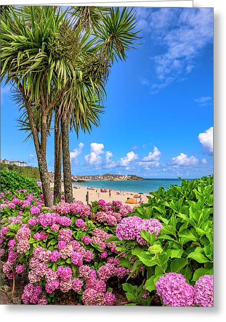 St Ives Cornwall - Summer Time Greeting Card