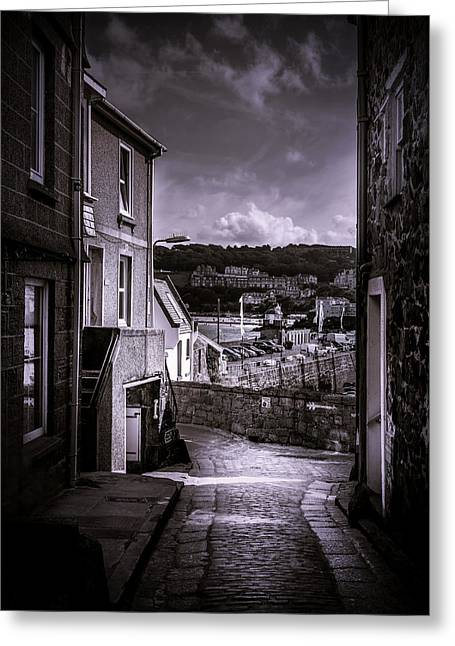 St Ives Street Greeting Card