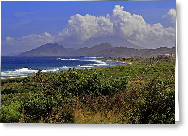 Greeting Card featuring the photograph St Kitts  by Tony Murtagh