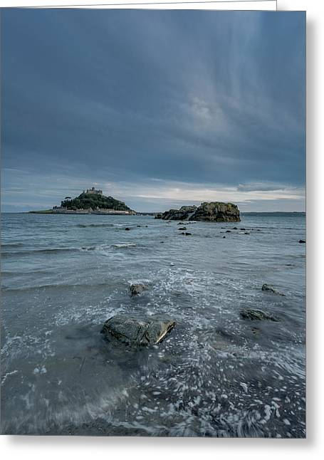 St Michael's Mount - Marazion - Cornwall Greeting Card
