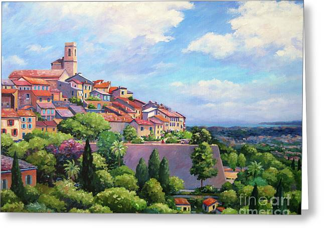 St Paul De Vence  20x16 Greeting Card